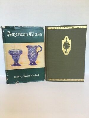 American Glass by Mary Harrod Northend HC/DJ 1940 Antiques Collecting History