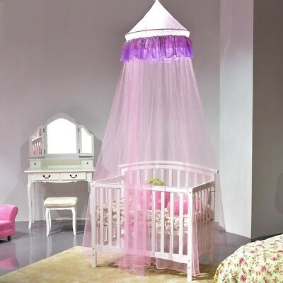 Mosquito Net For Kids Bedroom Bugs Insects Ruffle Lace Bed Canopy Protect Baby
