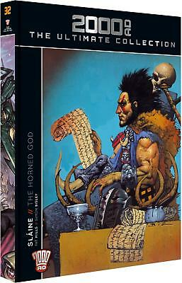 2000 Ad The Ultimate Collection**NEW & SEALED!**Slaine The Horned God book**!!!!