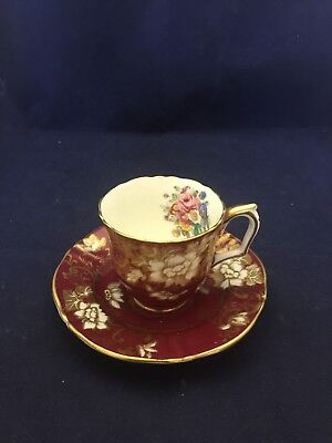 Crown Staffordshire Tea Cup And Saucer Pattern. A 16792