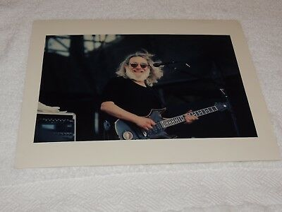 "Grateful Dead - Jerry Garcia 11"" x 14"" - 1995 Color Print - AWESOME SHOT!!"