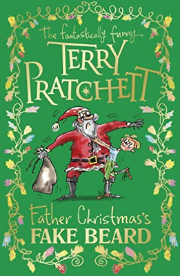 Pratchett,Terry-Father Christmass Fake Beard  Book Nuevo