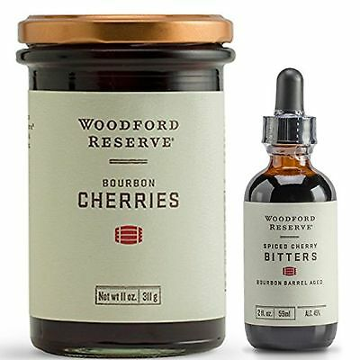 Woodford Reserve Spiced CherryBitters & Bourbon Cherries Combo