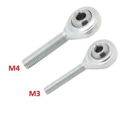 M3/M4 Metric Threaded Fish Eye Rod End Joint Bearing SI4T/K SI3T/K 3D Printer