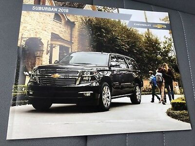 2018 CHEVY SUBURBAN 28-page Original Dealer Brochure