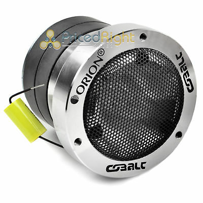 "CTW400 3.5"" Super Tweeter 300W Watts Max Power Orion 1"" Voice Coil Cobalt Series"