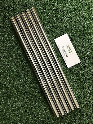 Golf Club Extensions Stainless Steel 5 Double Pieces For .580 Steel Shafts