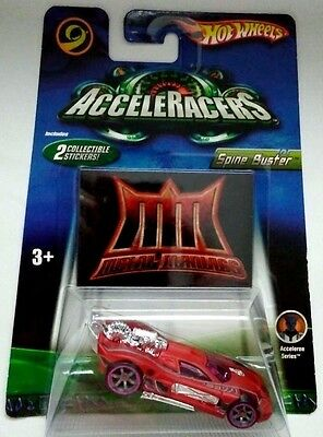 2005 Hot Wheels Acceleracers Acceleron Series - Spine Buster - New In Package