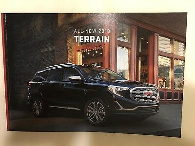 2018 GMC TERRAIN 50-page Original Dealer Brochure