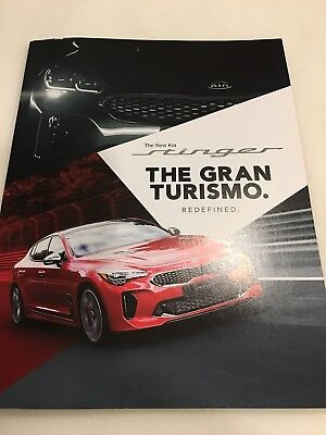 2018 KIA STINGER 50-page Original Dealer Brochure