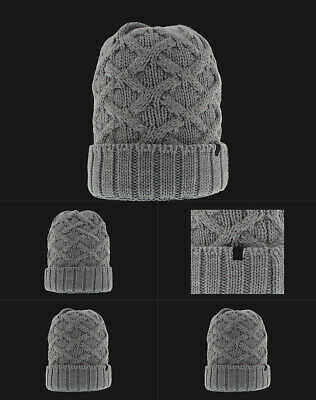 quality design 0c212 609eb Jordan Cable Beanie Knit Cap, Grey, 802027-063 One Size