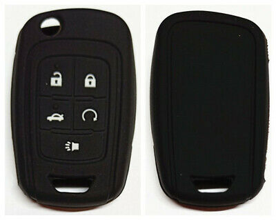 Black Chevrolet 5 Buttons Flip Key Cover For Holden Vf Commodore
