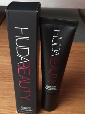 HUDA BEAUTY Complexion Perfection Pre Make Up Base Primer 30ml Full Size BNIB