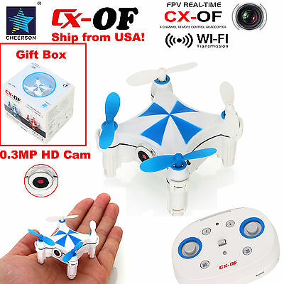 Cheerson CX-OF Optical Flow Sensor Dance WiFi FPV 2.4G Mini RC Quadcopter Drone