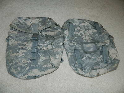 ONE (1) Military MOLLE II ACU Sustainment Pouch only Free Shipping