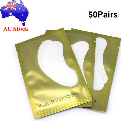 100PCS/Set Eyelash Pad Eye Pads Gel Patch Lashes Extension Beauty Mask Eyepads