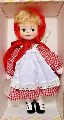 """RARE Vintage EFFANBEE """"LITTLE RED RIDING HOOD"""" Doll #6378  NEW IN BOX w/Hangtag"""