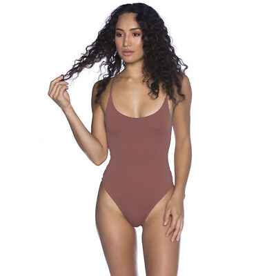 Ava And Ever Tyler Bodysuit in Red