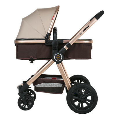 Baby Stroller 3 in 1 Travel System with Car Seat Prams For Newborns Pushchair