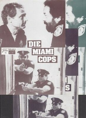 NFP Neues Filmprogramm  8399 Die Miami Cops - Bud Spencer, Terence Hill