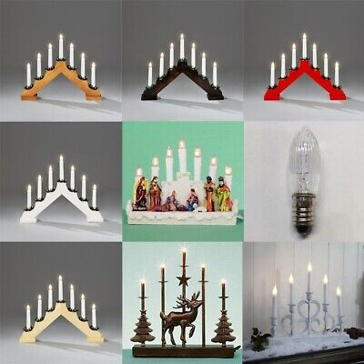 7 Light Candle Bridge Arch Candelabra - Multi Listing