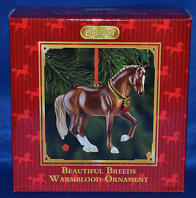 Breyer~Christmas 2013~Beautiful Breeds~Warmblood Holiday Ornament
