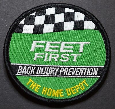 Home Depot Feet First Back Injury Prevention Patch