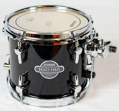 "Sonor Select Force Tom Tom SEF 11 0807 TT Piano Black 08"" x 07"""