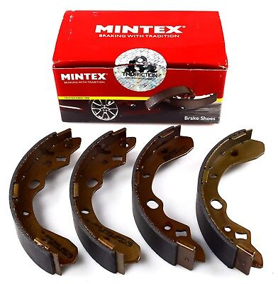 Mintex Rear Axle Brake Shoes Set For Mazda 323 Mfr503 (Real Image Of Part)