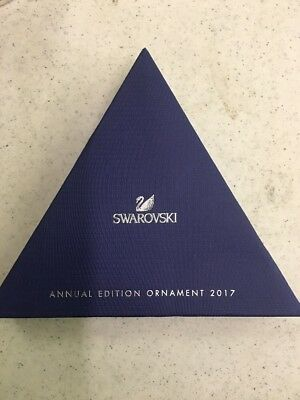 2017 Annual Edition Large Christmas Ornament Swarovski Crystal #5257589 2017