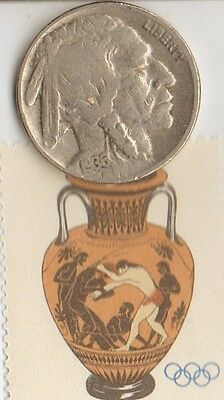 *greek Stamp +*micro *Collection of *1936 *Olympic  Memrobily's/coins/stamps/+..