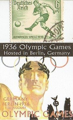 *micro *Collection of *1936 *Olympic  Memrobily's/coins/stamps/+..