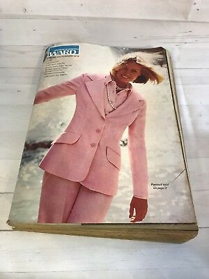 Vintage Montgomery Ward Spring & Summer 1973 Catalog 1203 pages vintage fashion