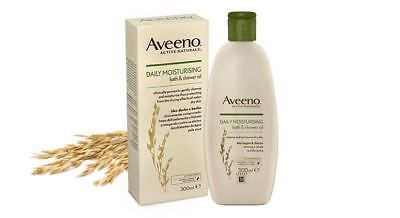 Aveeno Daily Moisturising Bath & Shower Oil 300ml
