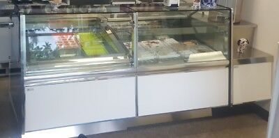 KAPPA Cash Counter, Pastry and Ice Cream Display Case