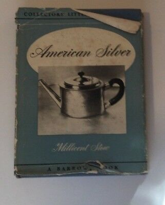 Vtg Collectors' Library American Silver Millicent Stow 1950 Hardcover HC