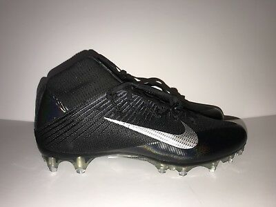 half off 3a949 5561d NEW Nike Vapor Untouchable 2 Football Cleats Black Silver Size 11 (824470- 002)