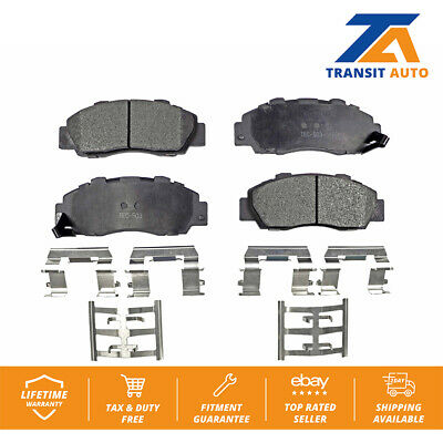 Front and Rear Brake Pad Kit Nissin for Acura CL Integra Honda Accord TL Prelude