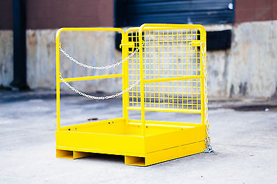 "Forklift Work Platform - New - 36"" x 36"" FREE SHIPPING"
