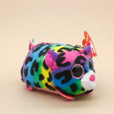 TY Beanie Boos Teeny Tys Stackable Plush Jelly Leopard Stuffed Animal Doll Toy
