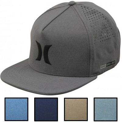 f3ade846f01 HURLEY MEN S DRI-FIT Icon Adjustable Snapback Hat Cap -  20.00 ...