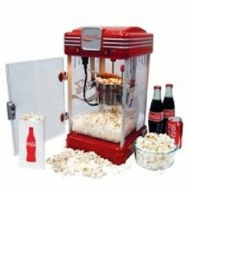 Coca Cola Coke Popcorn Machine  New!!