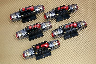 12V-24V Dc Home Solar System Waterproof Circuit Breaker Reset Fuse Inverter New