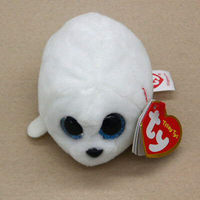 TY Beanie Boos Teeny Tys Stackable Plush Slippery Seal Stuffed Animal Doll Toy