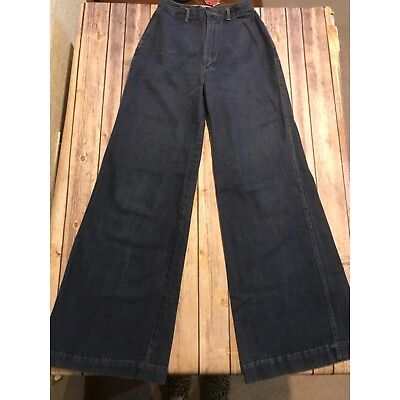 Vintage Pentimento Women's High Rise Bell Bottom Jeans