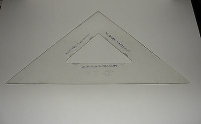 Vintage Keuffel & Esser K&E 1852-10 Triangle 10 x 10 x 14 Drafting Technical Art