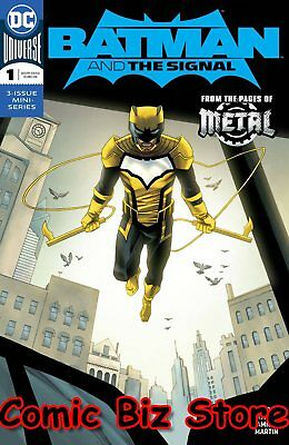 Batman And The Signal #1 (Of 3) (2018) 1St Printing  Variant Cover Metal Tie-In