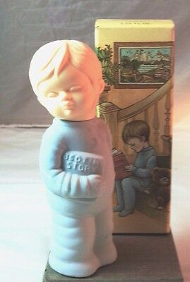 Vtg Avon Zany Cologne Sweet Dreams Little Boy Blue Decanter Bottle NOS 1.25 oz