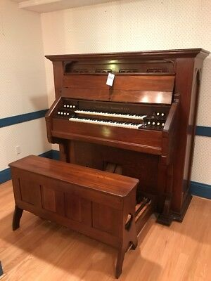 REDUCED Estey Studio Two-Manual Reed  Organ, 30-note pedalboard