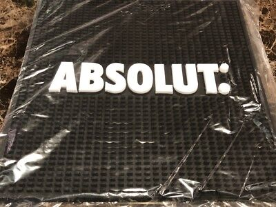 Absolut Bar Server Mat 14 x 14 inches BRAND NEW NEVER USED ** FREE SHIPPING **